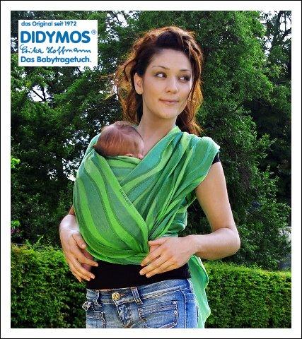 Ecotribu - cours de portage - écharpe Didymos